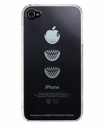 アップルマークをかっこよく使ったiPhoneケース