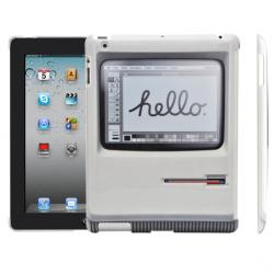 初代MacなデザインのかっこいいiPadカバー