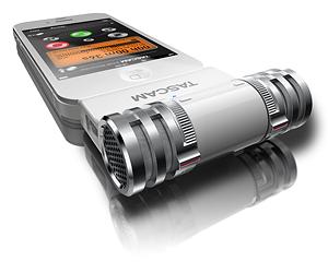 かっこいいiPhone用ステレオコンデンサーマイク