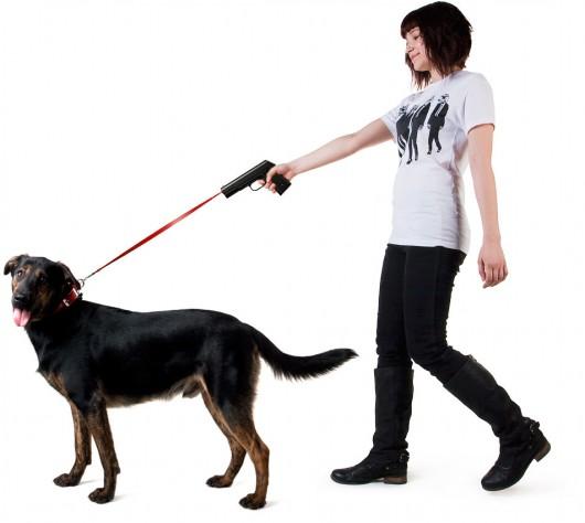 Retractable dog snap leash Povodokus